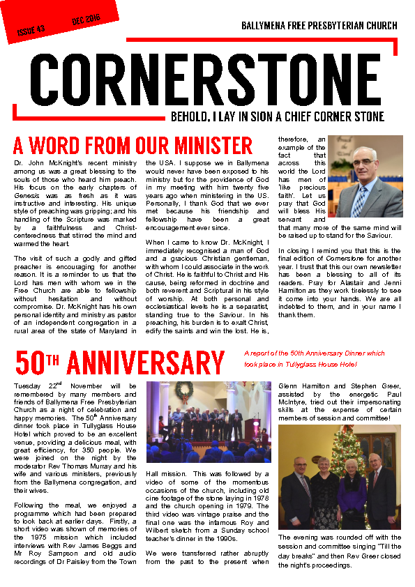 Cornerstone Issue 43