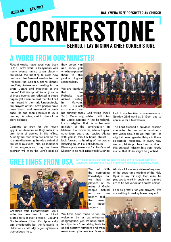 Cornerstone Issue 45